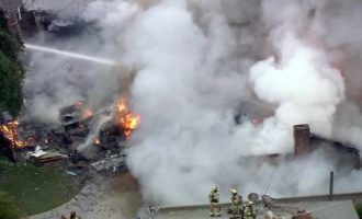 California: 4 killed, 2 injured as plane crashes into homes