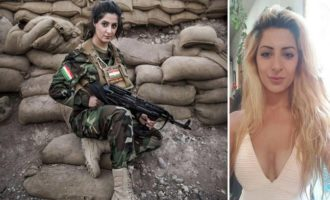 Woman power: Student who killed more than '100 ISIS militants' is being treated as terrorist