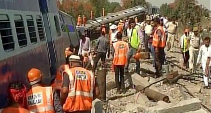 Six bogies of Mahakaushal Express derail