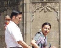 Akshay Kumar & Radhika Apte Shooting For PadMan