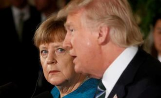 Donald Trump-Angela Merkel air differences in frosty first meeting