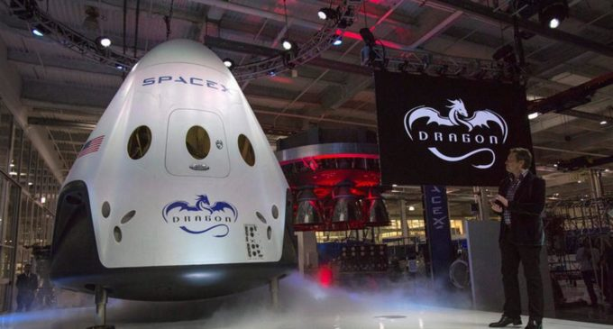 SpaceX reusable cargo ship returns to Earth