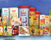 Amul Dairy turnover touches Rs 5,705 crore