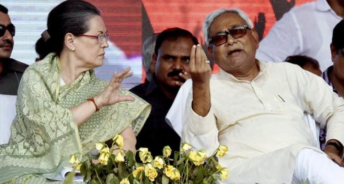 Nitish meets Sonia amid JD(U) plea for common presidential candidate